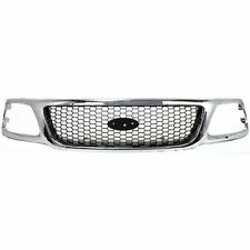 Grille Ford Truck 1999-2003 FO1200404 F-150 F150 F-250 F250 New Chrome Shell