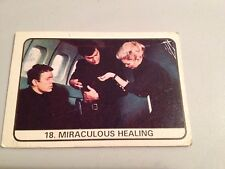 The Champions A&BC Bubble Gum Trading Card Number 18 Miraculous Healing 1969