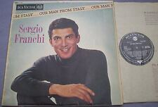 SERGIO FRANCHI Our Man From Italy UK RCA Victor Mono 1st GROOVED 1B/1B