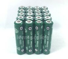 20 pcs Rechargeable NiMH AAA 600mAh Ni-mh Batteries for Solar-Powered H20