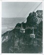 1988 Palm Springs Aerial Tram Cars Original News Service Photo