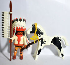 Playmobil  Indian Chief with Horse - Figures