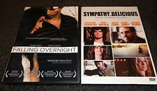 FALLING OVERNIGHT & SYMPATHY FOR DELICIOUS-2 movies-PARKER CROFT, CHRIS THORNTON