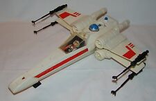 VINTAGE 1978 STAR WARS ~ X-WING FIGHTER ~ COMPLETE ~ KENNER PARTS LUKE WHITE