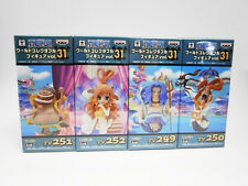 One Piece World Collectable Figure WCF vol.31 Fishman Island Set of 4 Free ship!