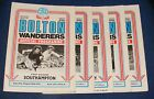 BOLTON WANDERERS HOME PROGRAMMES 1979-1980