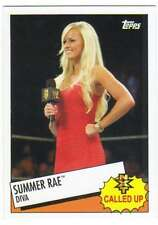 2015 Topps WWE Heritage Wrestling NXT Called Up Insert #20 Summer Rae