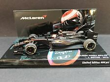 Minichamps - Jenson Button - McLaren - MP4/30 - 2015 - 1:43 - Promo - Very Rare
