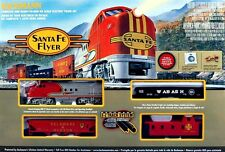 Bachmann HO Scale Train Set Analog Santa Fe 00647