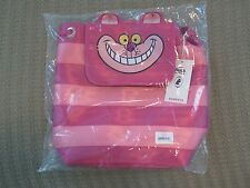 Harveys Seatbelt Bag Cheshire Cat Backpack Disney Alice in Wonderland NIP