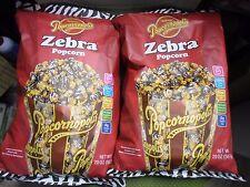 New 5 X 20 oz Popcornopolis Zebra Popcorn GMO Free Corn 0 Trans Fat Pure Coconut