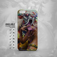 the white lion and human phone case for iPhone 4, 4s, 5, 5s, 5c, 6, 6plus