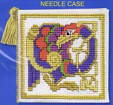 Celtic Bird Needle Case Cross Stitch Kit By Textile Heritage