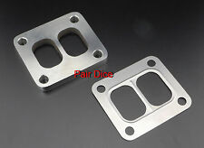 "T4 Divided Turbo Inlet FLANGE 304 Stainless Steel 1/2"" + Gasket"