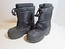 Totes Kids Black Toddler Boys Winter Boots Size 7