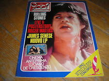 CIAO 2001 32 1984 ROLLING STONES IAN DURY ROGER WATERS JAMES SENESE JACQUES BREL