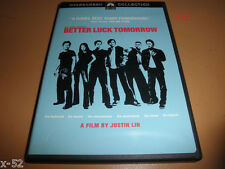 early JOHN CHO dvd BETTER LUCK TOMORROW justin lin JERRY MATHERS sung kang