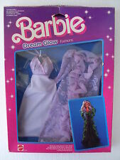 barbie dream glow fashions luce stelle dress robe abito ok NRFB 1985 mattel 2192