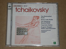 TCHAIKOVSKY - NUTCRACKER SUITE, EUGENE ONEGIN, SWAN LAKE- 2 CD COME NUOVO (MINT)