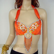 Brand New Sexy Belly Dance Bra Top 36D 38D 40D And 40B-C Free Shipping