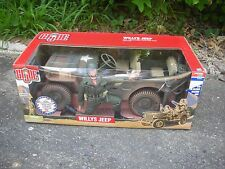 MVT - GI Joe Willys Jeep w/WWII Infantry Soldier, Limited Edition, Mint in Box!