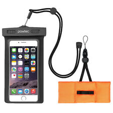Pawtec Universal Waterproof Pouch Case IPX8 for iPhone 7 Plus Galaxy S6 Note 4