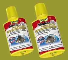 Tetra Medica FungiStop 2 x 500ml Medicament against fungal attack belowa. for