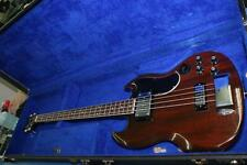 "1970-1971 34"" Gibson EB-3L 4 String Electric Bass Guitar in Cherry Red w/ Case"