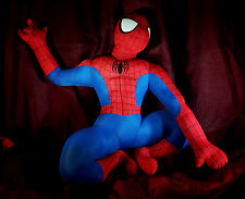 "SPIDER-MAN by MARVEL KellyToy 16"" Tall - Good ""Played With"" Condition with Tags"
