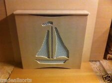 MDF Radiator cover/cabinet made to measure Boat design