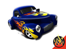 Hot Wheels Cars - '41 Willys Blue
