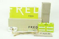 Brand New FRED Rx EYEGLASSES FRAME - ST MORITZ C3 001 - retail $500