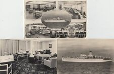 Unused lot of 11 x postcards of P & O Arcadia showing exterior & interior