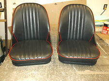 AUSTIN HEALEY SPRITE BUG EYE NEW VINYL SEATS WITH SEAT TRACKS