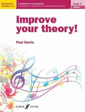 ABRSM Improve Your Theory Grade 5 Learn to Play PIANO GUITAR SAX MUSIC BOOK