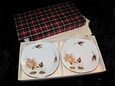 SUPERB VINTAGE CMIELOW POLAND China Dishes Salmon Coloured Rose Unused Boxed