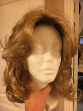 "NEW - Godiva's Secret Wigs "" Rochelle"" WIG - Color (Butter Pecan Rooted)"