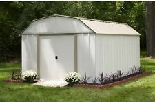 Storage Shed 10x14 Foot Lawn Utility Kit Sheds Backyard Units Unit Tool Protect