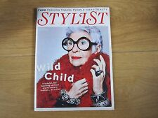 Stylist Magazine Issue 267 Iris Apfel,Sheridan Smith,Lucy Mangan,New.
