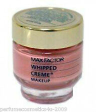 MAX FACTOR WHIPPED CREAM / CREME MAKEUP MEDIUM BEIGE / WARM # 3 NEW DISCONTINUED