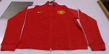 Manchester United 2015 Soccer Track N98 Top Jacket Full Zip Soccer S Red