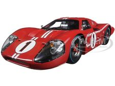 1967 FORD GT MK IV RED #1 LEMANS WINNER 24HRS 1/18 SHELBY COLLECTIBLES SC423
