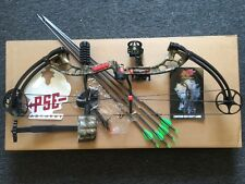 PSE STINGER X NEW 2016 40-70LB MOSSY OAK COUNTRY FULL PACKAGE RELEASE, ARROWS !!