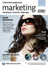 Marketing, Paul Baines, Chris Fill, Kelly Page Business Economics Textbooks Uni