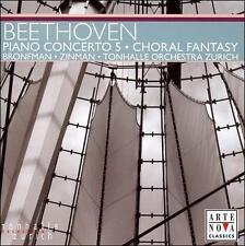Beethoven: Piano Concerto No 5 Zinman, Tonhalle Orchestra Zurich Audio CD
