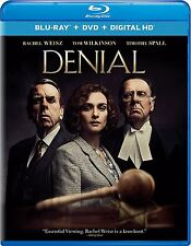 PRE ORDER: DENIAL (Rachel Weisz) -   BLU RAY Sealed Region free for UK