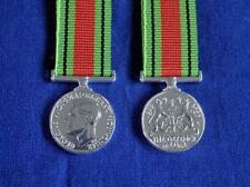 DEFENCE MEDAL 1939 TO 1945 MINIATURE MEDAL