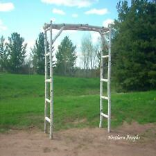 White Birch Wedding Arch Kit