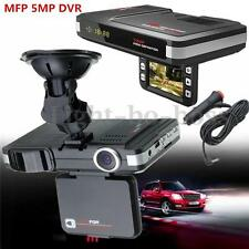 MFP 5MP DVR TFT Video Registrator Recorder Dashcam + Radar Laser speed Detector