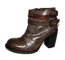 New FREEBIRD 'Lion' Ankle Boots, Western Belted Chap Bootie, 9
